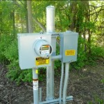 Stand Alone Meter Installation