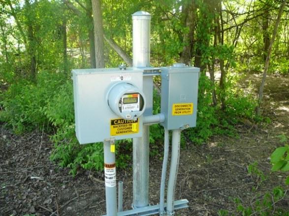 Stand Alone Meter Installation