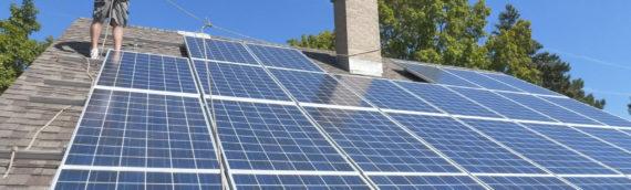 Hamilton Indiana Residential Solar Panel Installation