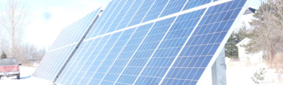 N Dewitt Michigan Solar Installation