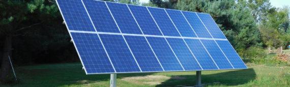 Lake Ovid Solar Installation